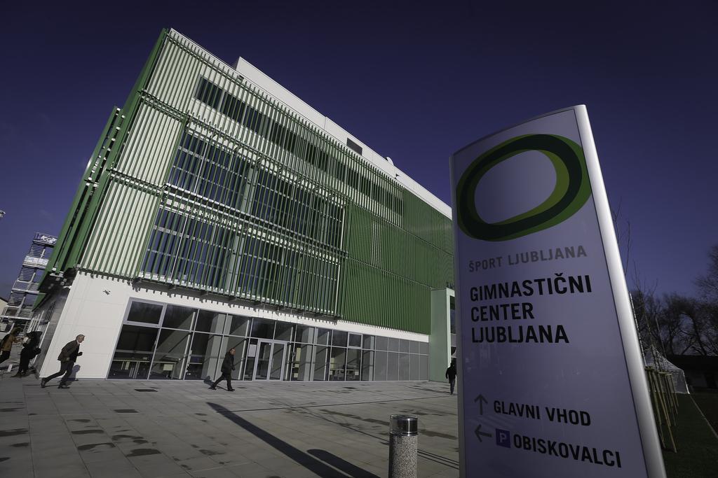 Fitnes Vič, Gimnastični center Ljubljana