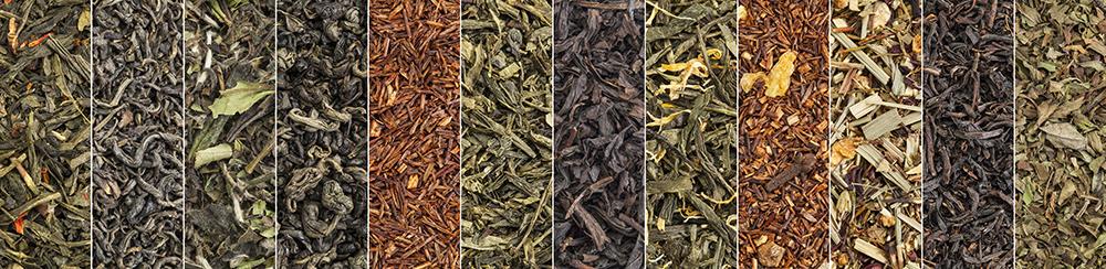 Različni čaji.